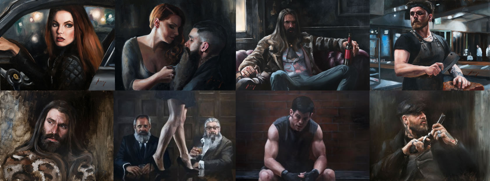 Paintings by Vincent Camp