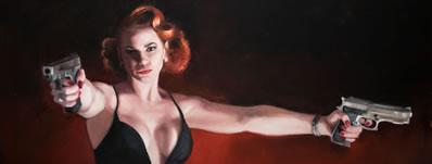 Award-winning Artist Vincent Kamp to present crime noir exhibition THE LONG GAME
