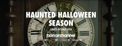 Haunted Halloween Season on Horror Channel