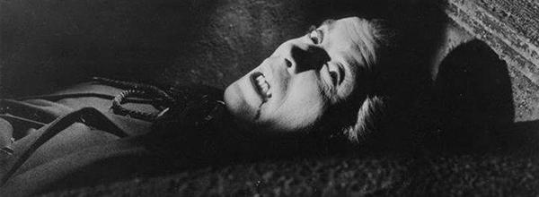 Dracula production shot