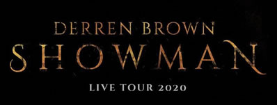 Derren Brown announces brand new tour for 2020