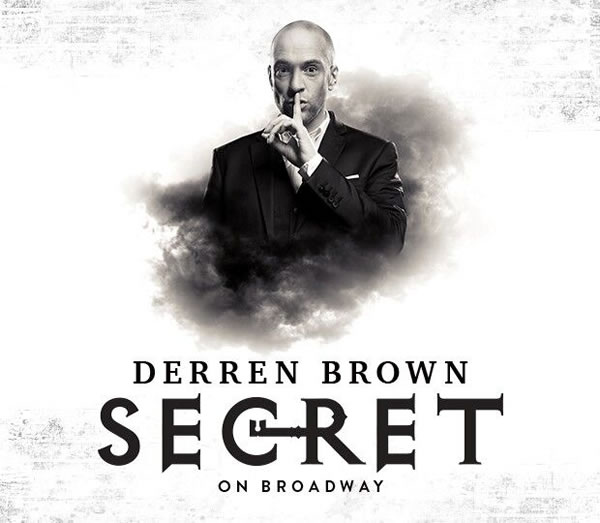 Derren Brown: Secret to open on Broadway