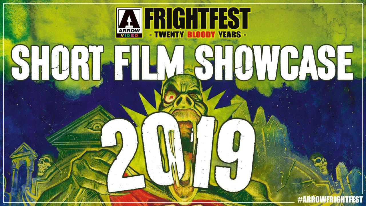 Frightfeast short film showcase title treatment