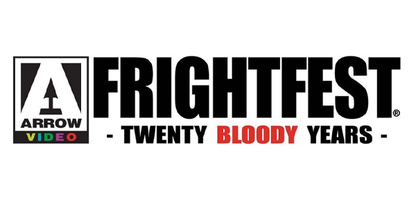 FrightFest 20 bloody years title treatment for listings