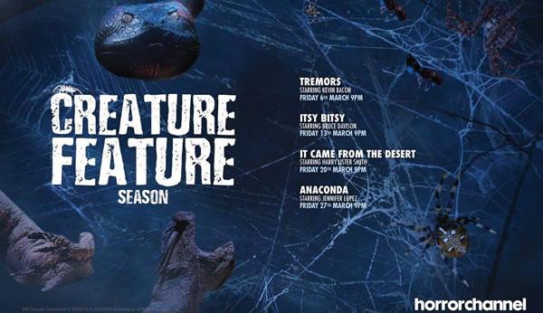Horror Channel March 2020 Creature Feature Season
