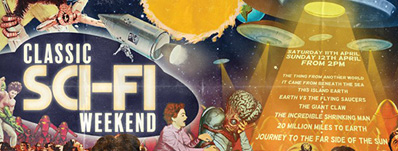 Classic Sci-Fi weekend with Horror Channel