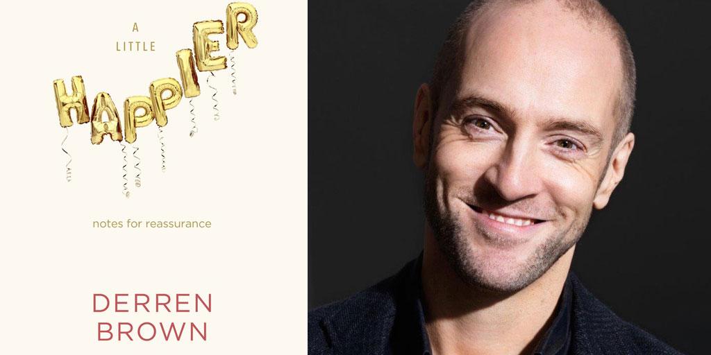 Derren Brown and Happier poster montage