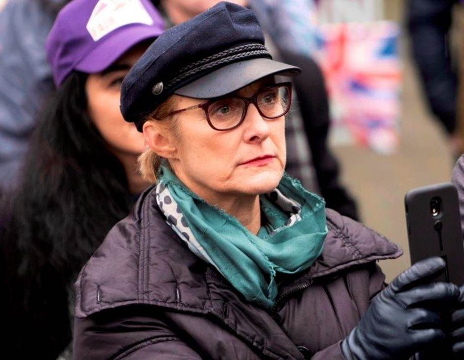 Caroline as Maggie in COLD COURAGE
