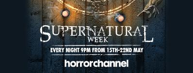 Horror Channel Supernatural Week