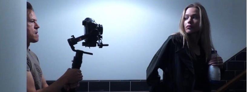 Behind The Scenes: Howard Ford with actress Ksenia Islamova