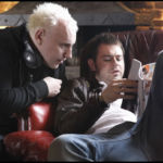 Danny Dyer & Jake West on the Doghouse set